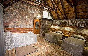 classic kruger safari chalet interior