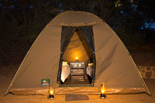 3 day camping kruger safari dome tent